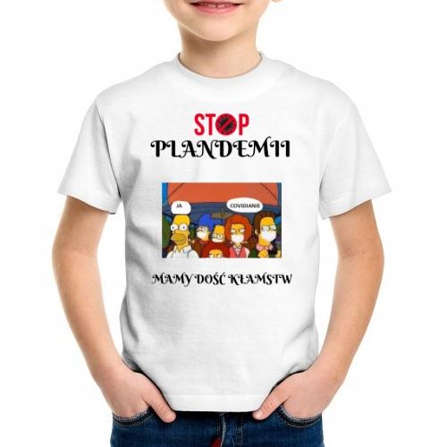 Купить Детская футболка Stop Plandemii Pandemia 140 9/11 на Otpravka - цены и фото - доставка из Польши и стран Европы в Украину.
