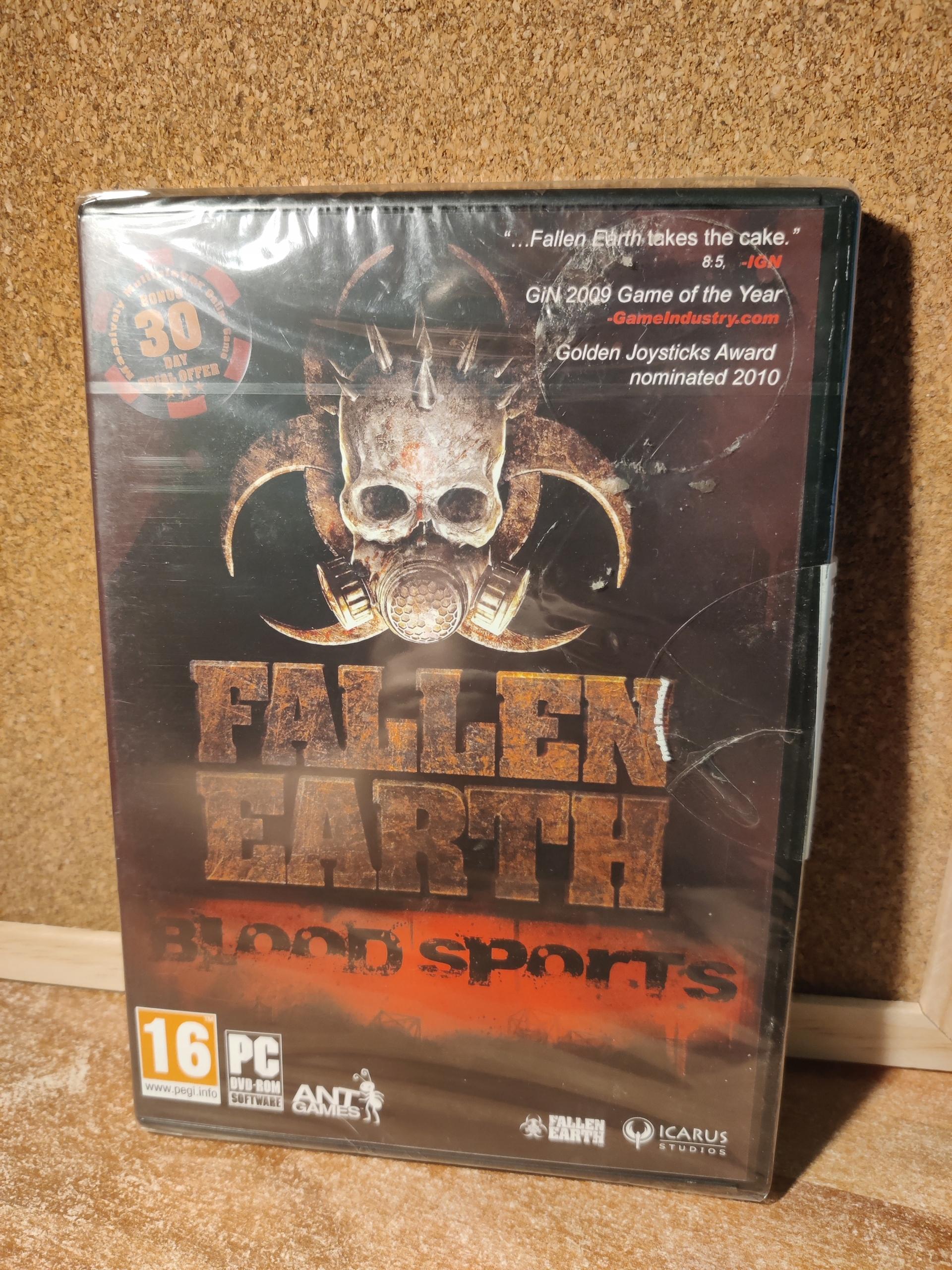 Fallen Earth Blood Sports PC hry Retro Classic Nové