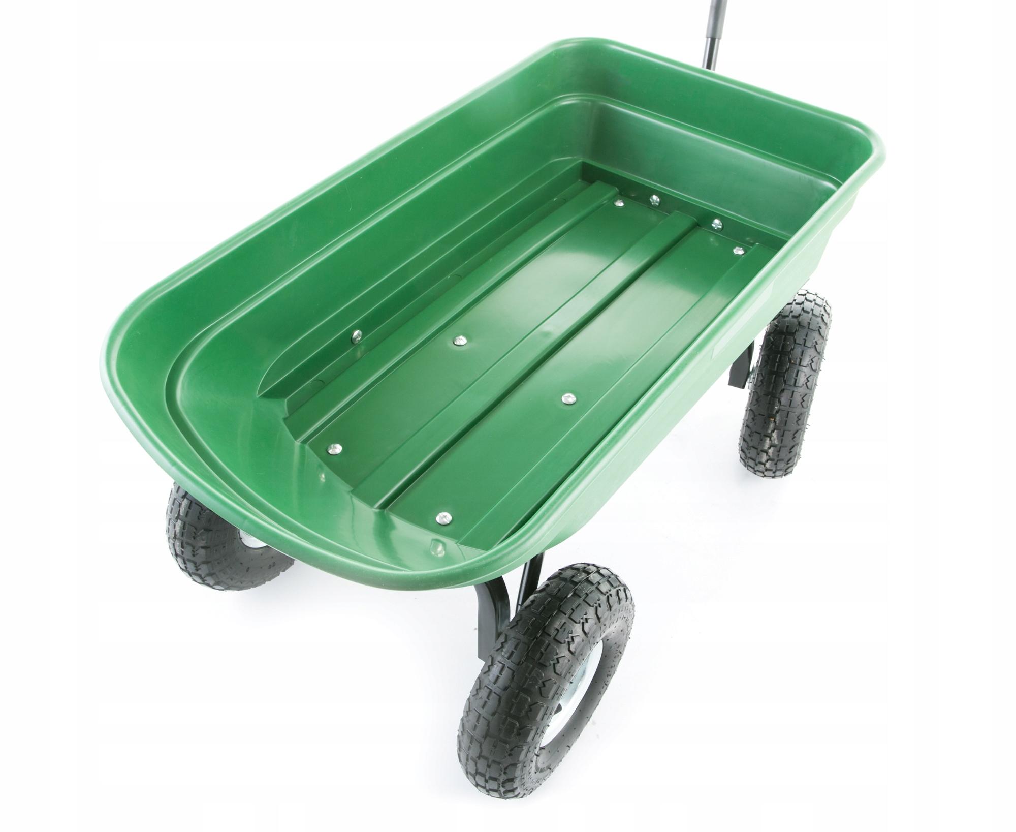 Taczka wózek ogrodowy transportowy wywrotka 350kg Waga produktu z opakowaniem jednostkowym 15 kg