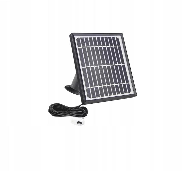 Panel solarny do kamer 4G lte WiFi na baterie USB