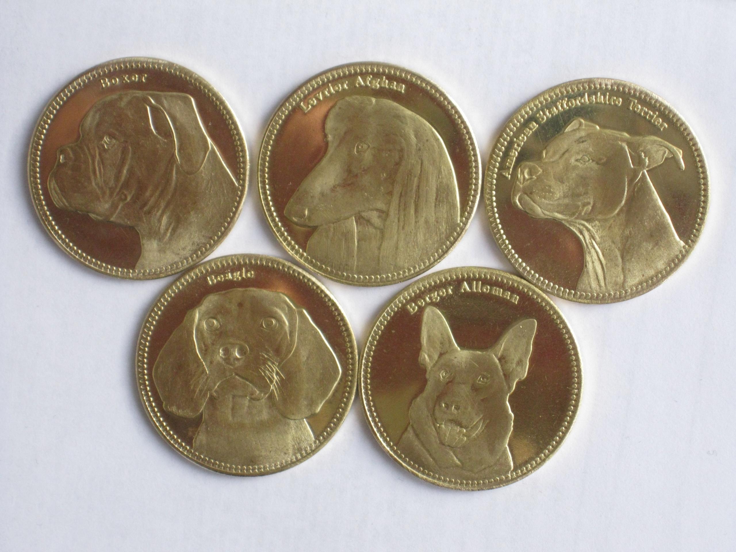SOMALILAND zestaw 5 monet PSY