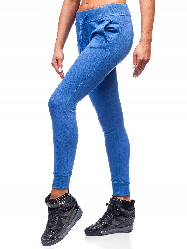 Spodnie Sportowe Niebieskie WB11003 DENLEY_2XL