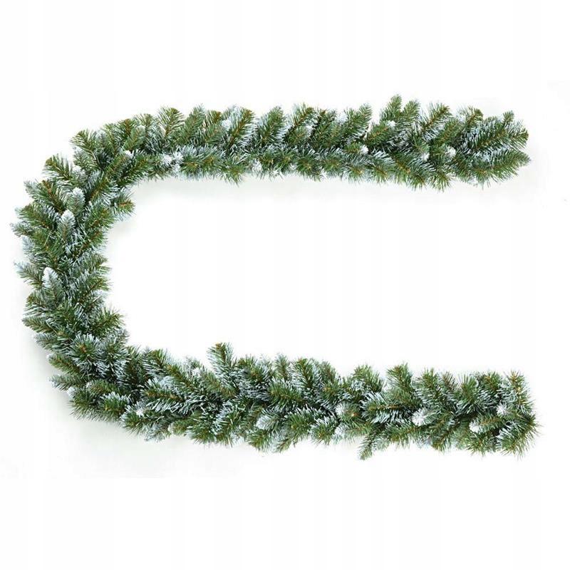 Vianočná girlanda, 275 cm hrubá hustá reťaz