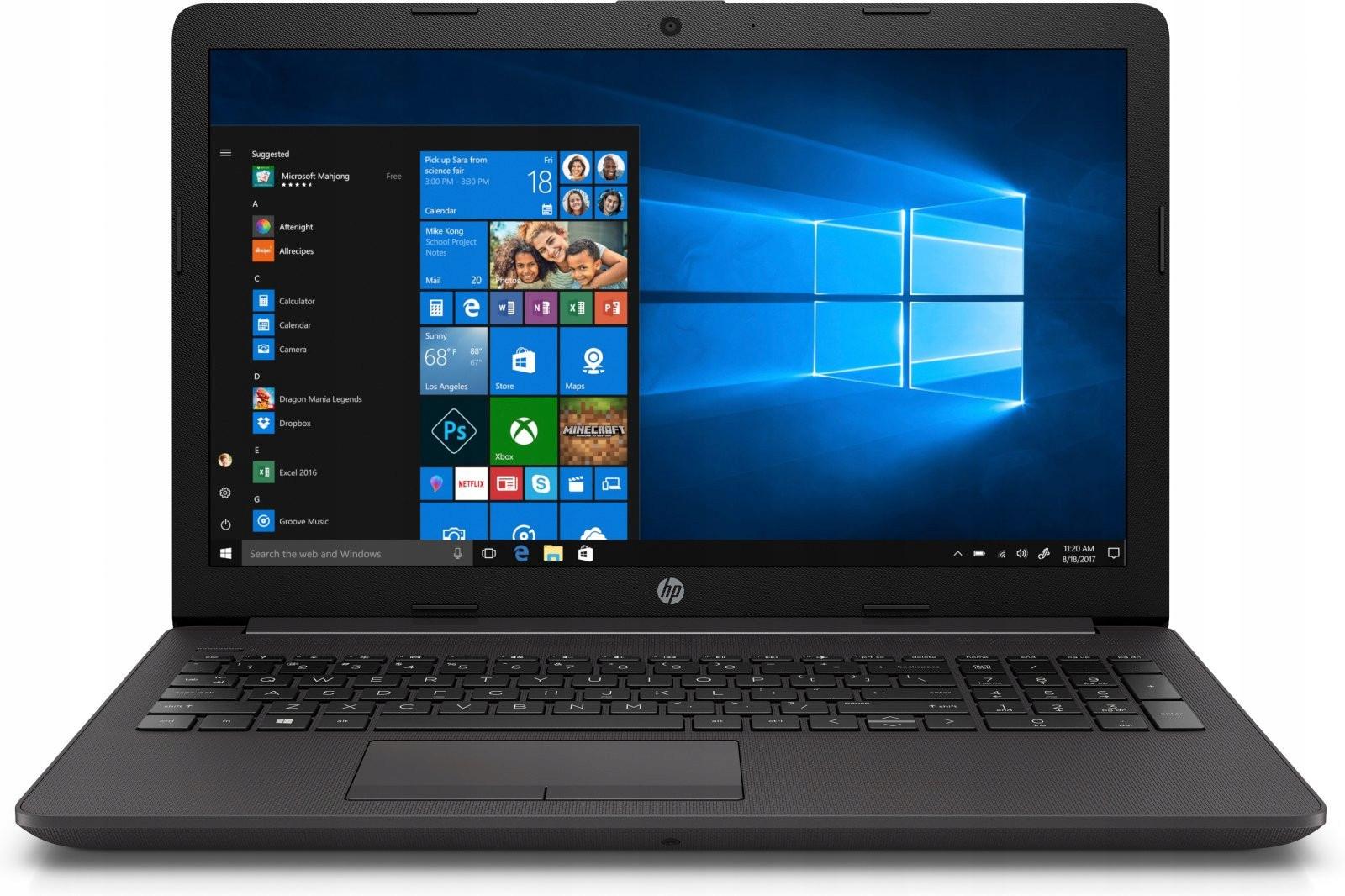 MOCNY LAPTOP HP INTEL RDZENIOWY SSD256 8GB W10