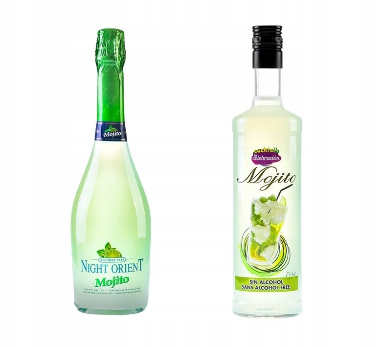 Набор из 2 безалкогольных напитков MOJITO 0%