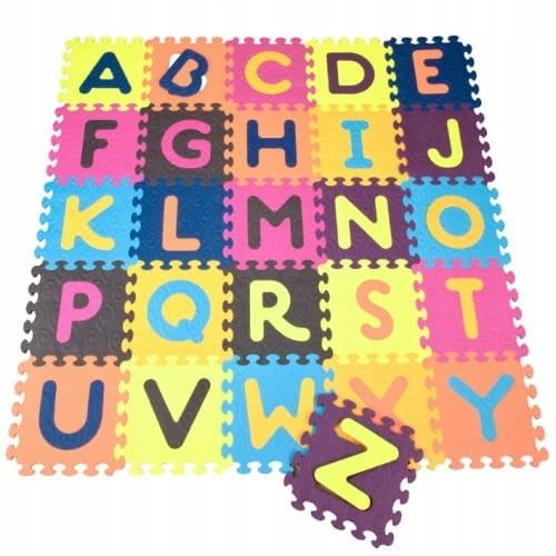 Beautifloor penová podložka s abecedou Btoys