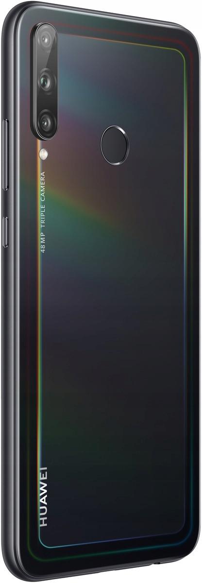 Czarny Smartfon HUAWEI P40 Lite E 4/64GB Pie Funkcje aparatu lampa błyskowa nagrywanie wideo panorama