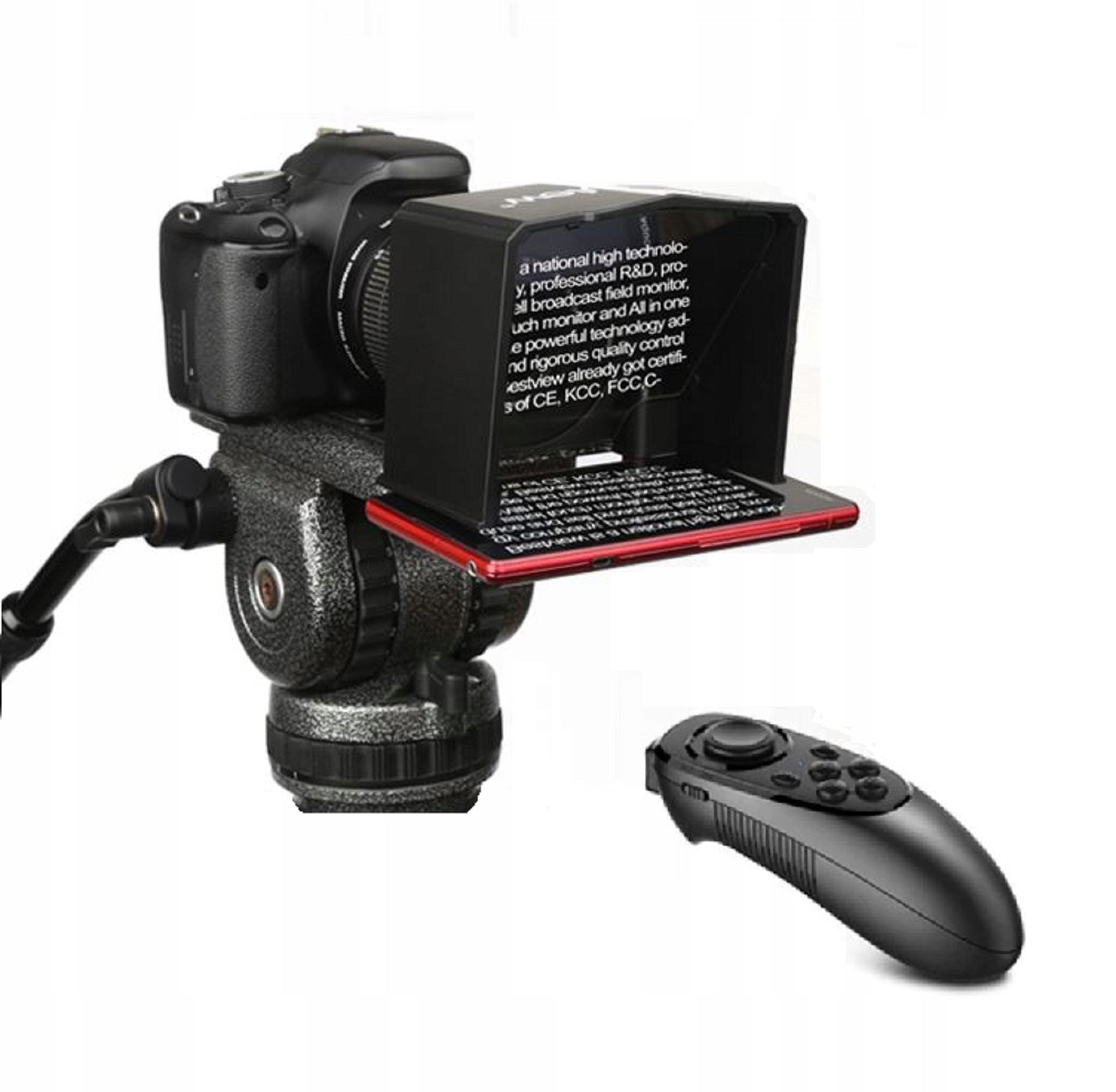 Item PROFESSIONAL TELEPROMPTER remote control mobile prompter