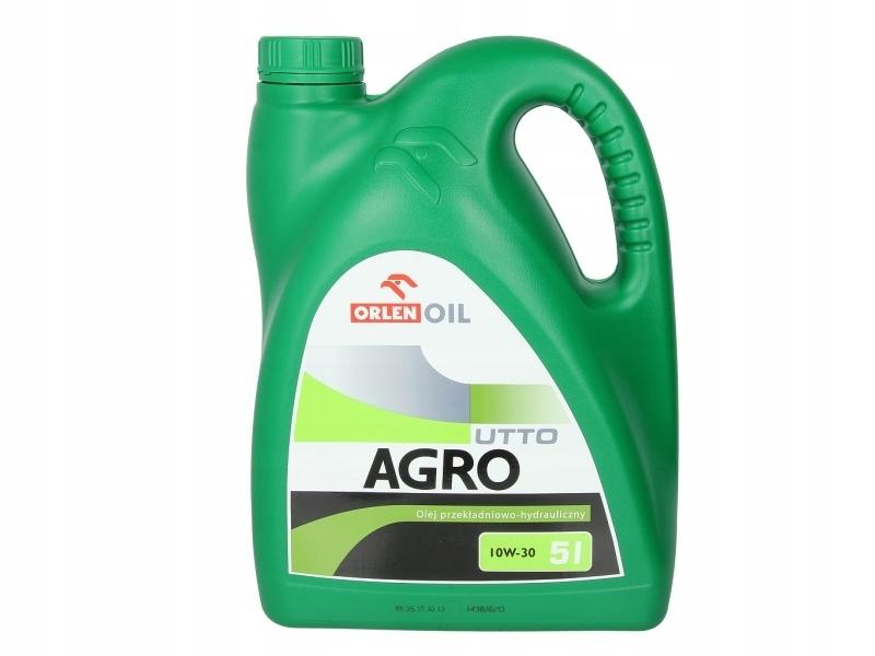 Гидравлическое трансмиссионное масло AGRO UTTO 10W30 5L