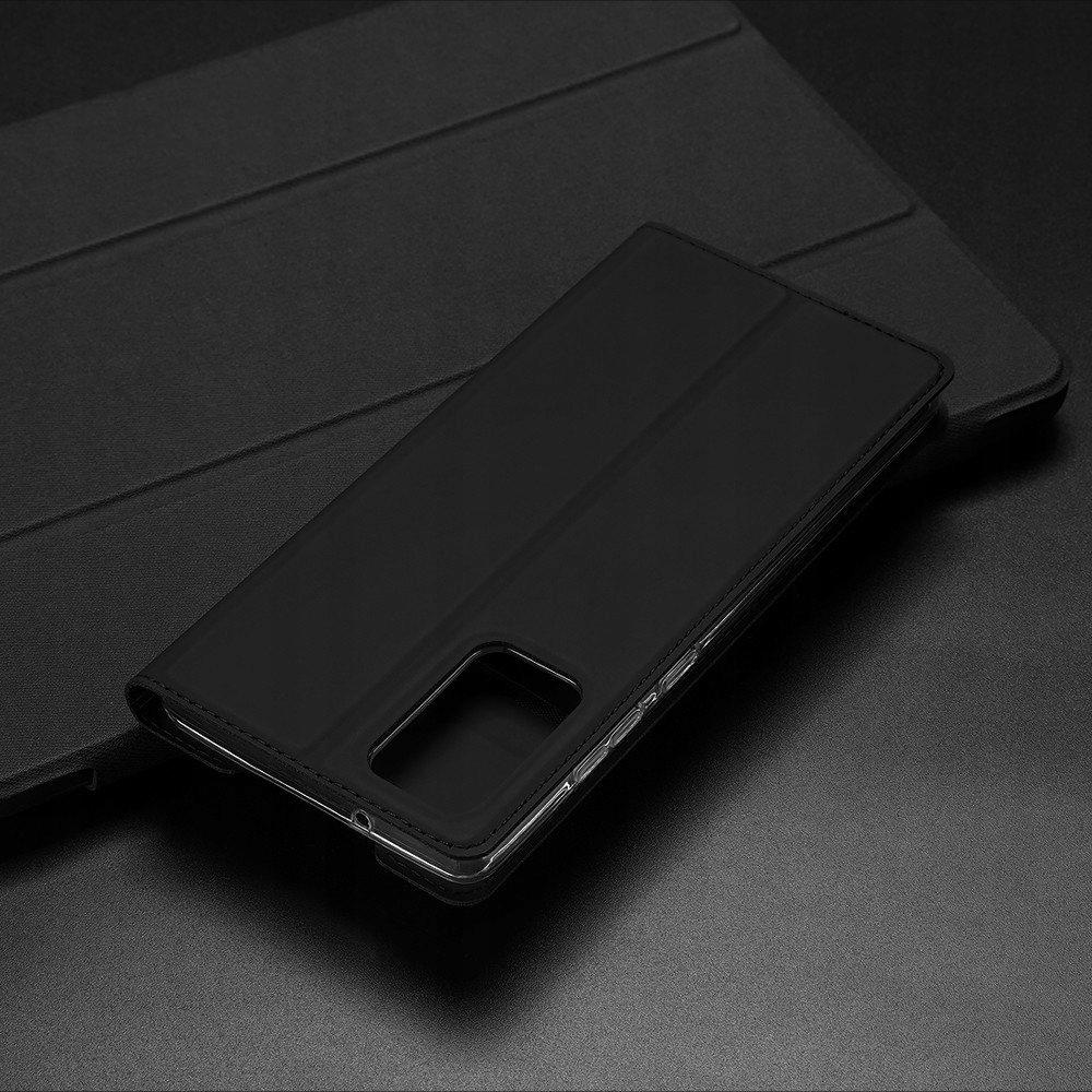Etui Dux Ducis z klapką do Samsung Galaxy Note 20 Kolor czarny