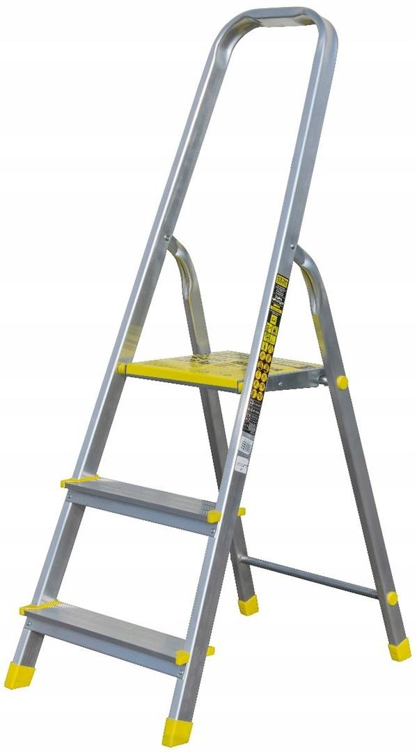 Алюминиевая лестница STRONG HOME с системой Bayersystem 120 кг