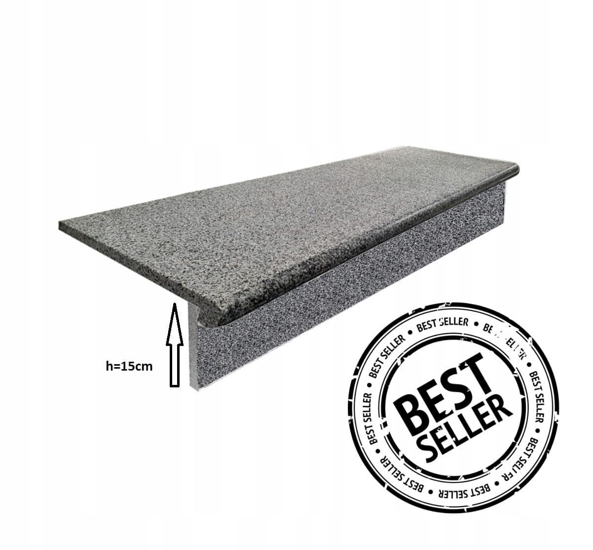 Комплект ступеней + ступенька Granite G654 100x35x2