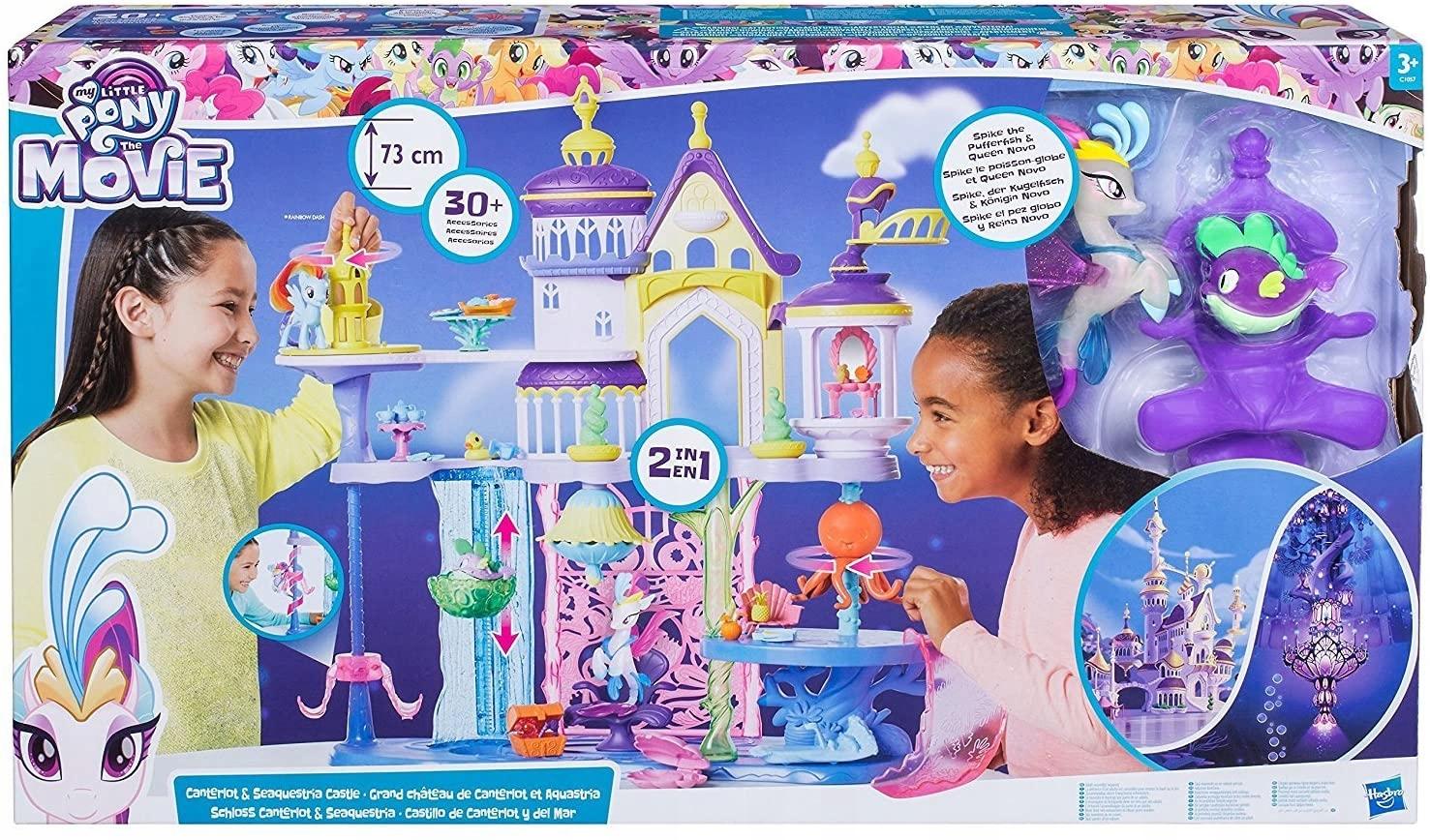 Hasbro Pony Pony Big 73 Castle Palace Canterlot