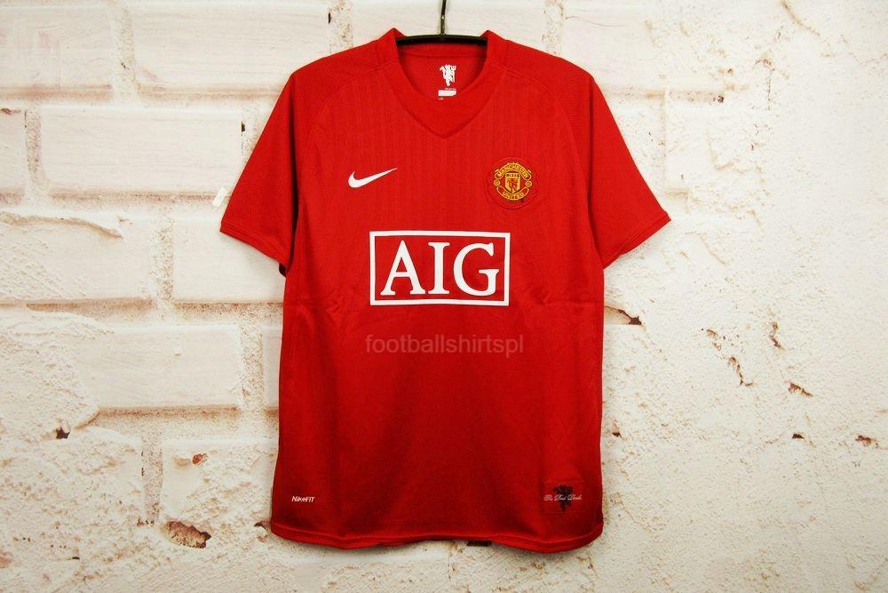 Domáce tričko Manchester United retro 07/09