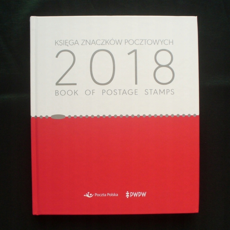 Книга марок 2018 пуста, (марка альбома описаний)