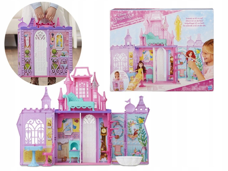 Disney Princess The Princess Castle Suitcase NÁBYTOK