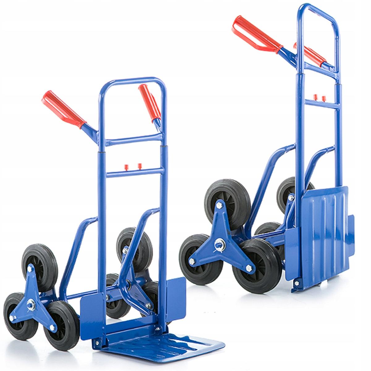Wózek magazynowy schodowy młynarka transportowy