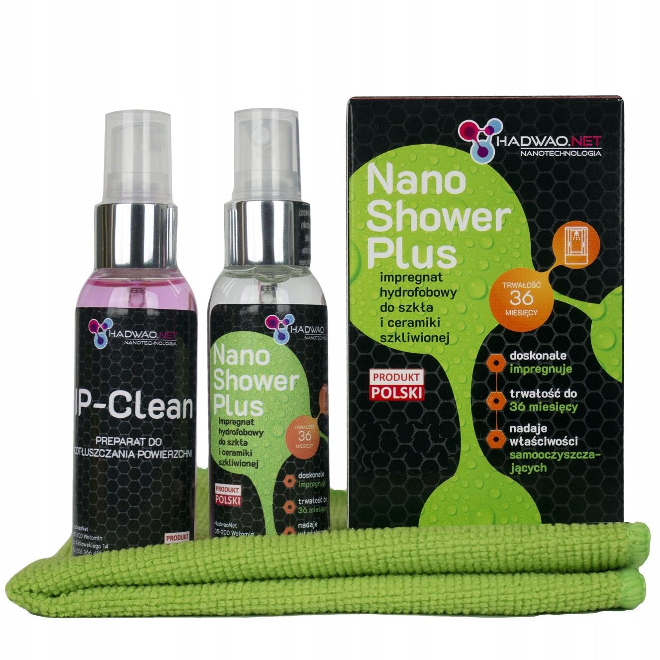 NANO WARSTWA do kabin prysznicowych, Shower Plus