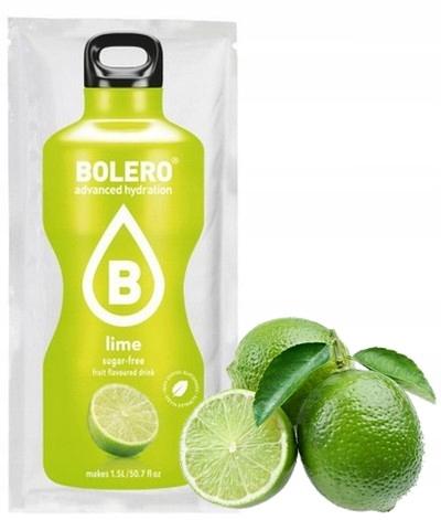 BOLERO DRINK 9 г лаймовый тушеный сахар без сахара с низким содержанием углеводов