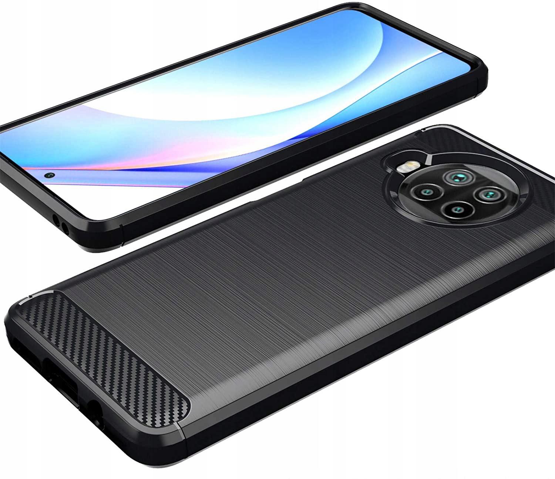 Etui do Xiaomi Mi 10T Lite 5G KARBON CASE + SZKŁO Kod producenta N27