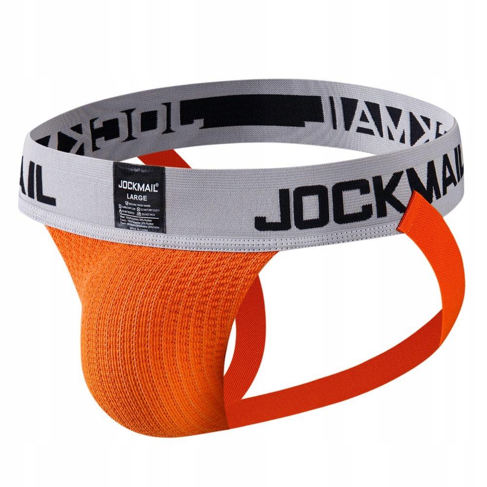PUMP JOCKMAIL JOCKSTRAP XL RETRO PREMIUM ORANGE