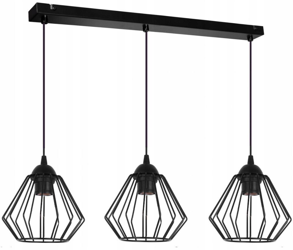 Závesná stropná lampa DIAMOND LOFT EDISON RETRO 3