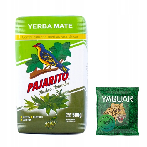Йерба Матэ Пахарито Ягуар Иербас 0,5 кг 500 г