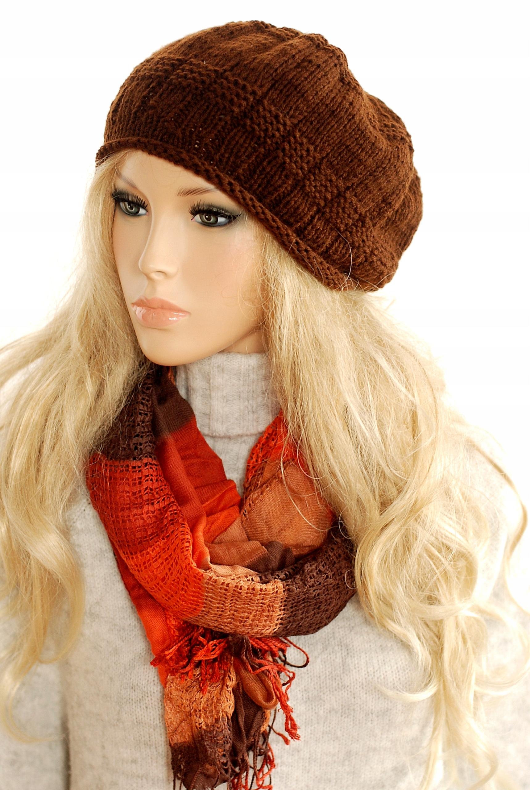 Krásne Brown Breet CAP vzory Remeslá