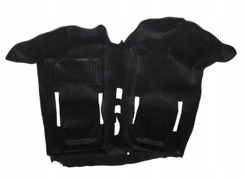 ковровое пола fiat 126p черная as2