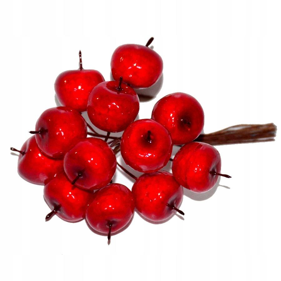 Яблоки райские красные 2СМ проволока 12шт. фрукты