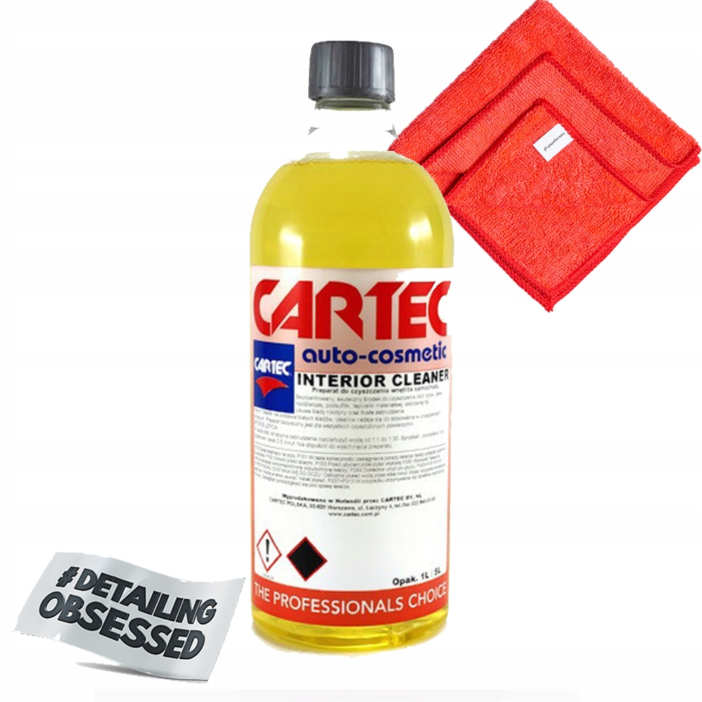 CARTEC INTERIOR CLEANER 1Л чистка салона