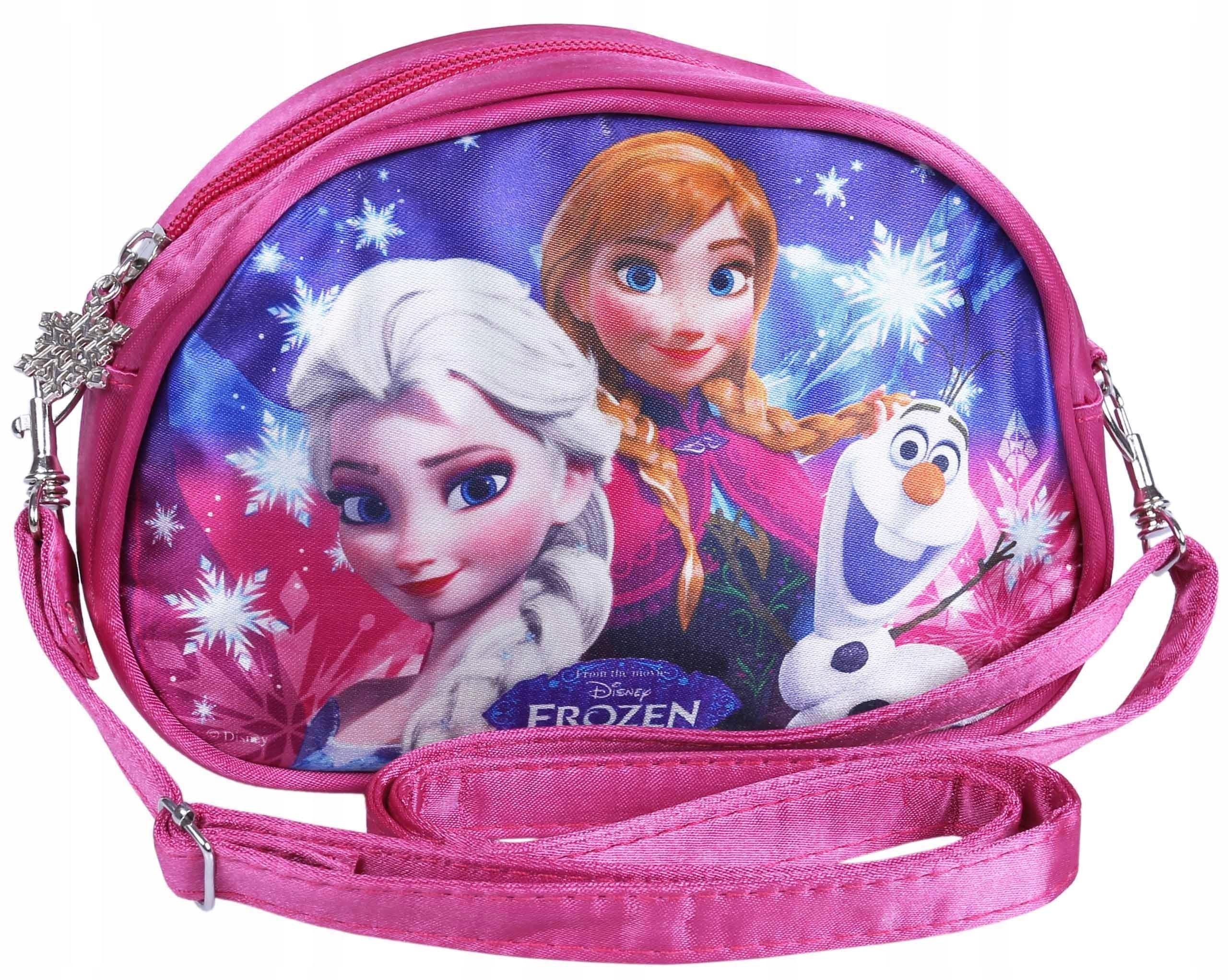 Dievčenská ružová taška cez rameno Frozen DISNEY