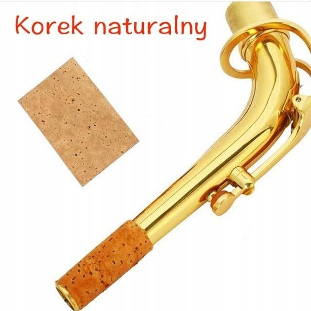 Saxofónový potrubný korok