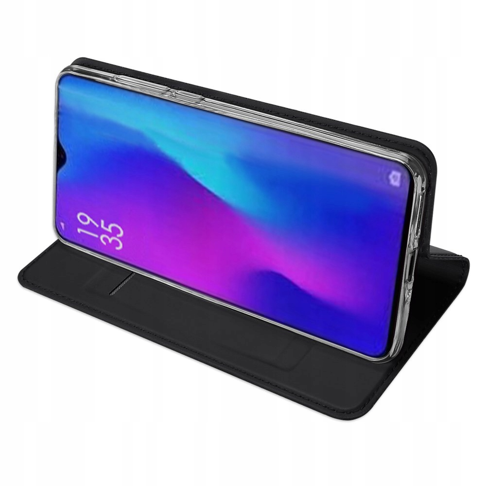 Etui DUXDUCIS czarny + szkło UV do Huawei P30 Pro Typ etui z klapką