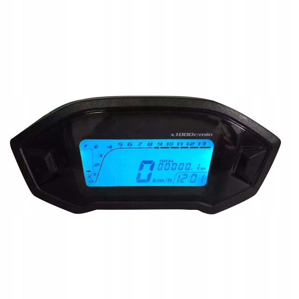 UNIWERSALNY LICZNIK CYFROWY MOTOCYKL QUAD LCD