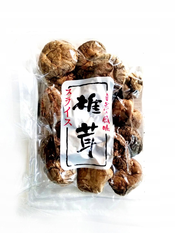 Grzyby Shitake suszone 50g shiitake grzybki