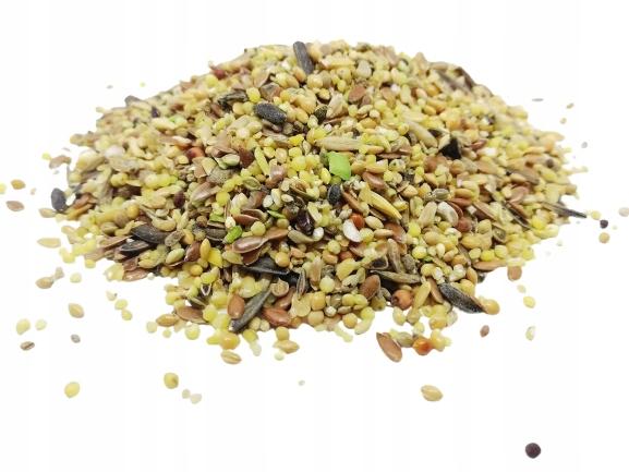 Корм для диких птиц, мелкие семена 1 кг
