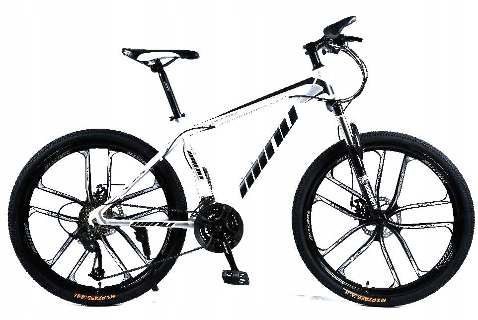 """Rower górski MTB Minu 26"""" 10R biało-czarny"""