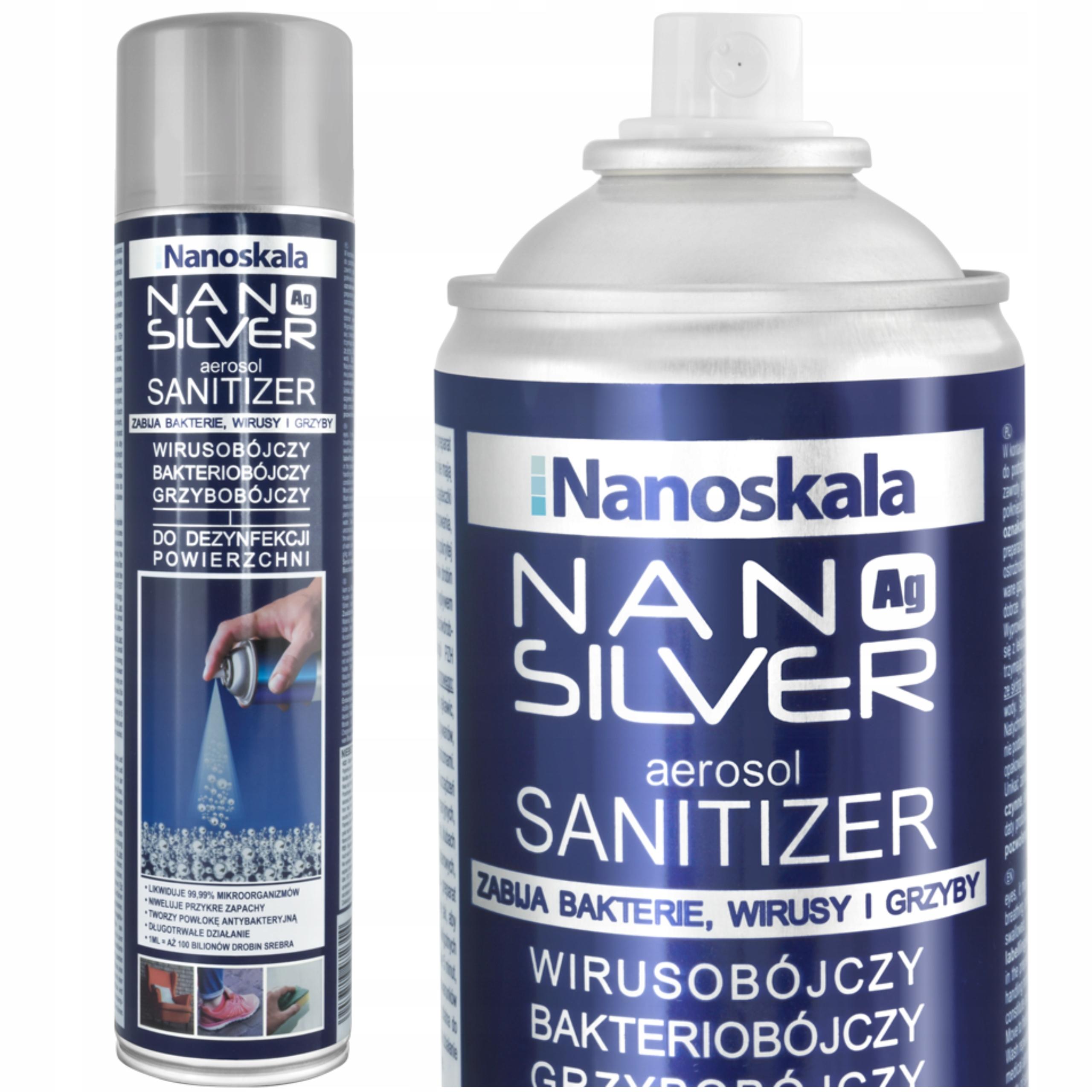 Dezinfekcia striekačov - Nano Silver / Works