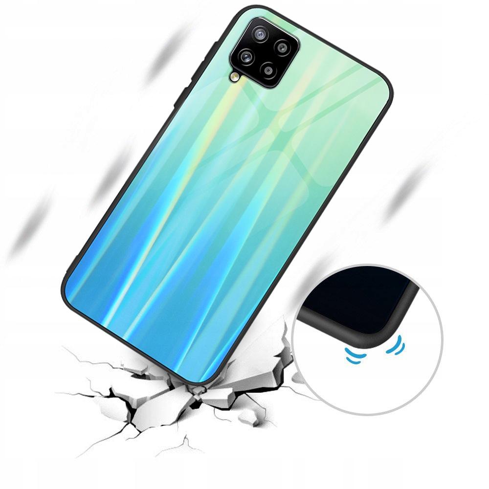 Etui do Samsung Galaxy A42 5G Case Glass +Szkło 9H Dedykowany model Samsung Galaxy A42 5G