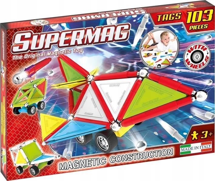 Magnetické podložky Supermag Značky Kolesá 103