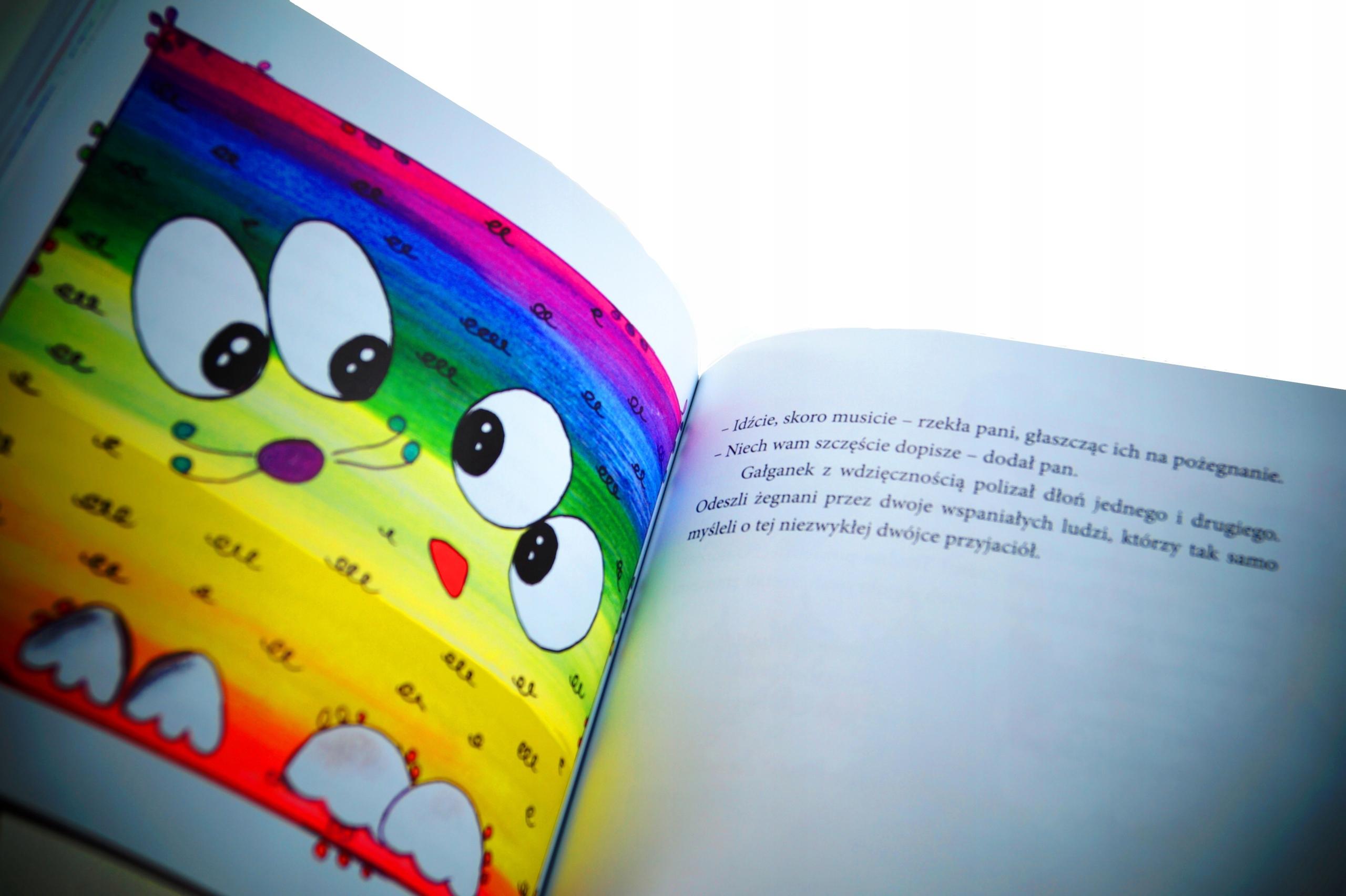 Książka dla dzieci ŁATKA I GAŁGANEK B.Woda Wysokość produktu 20.5 cm