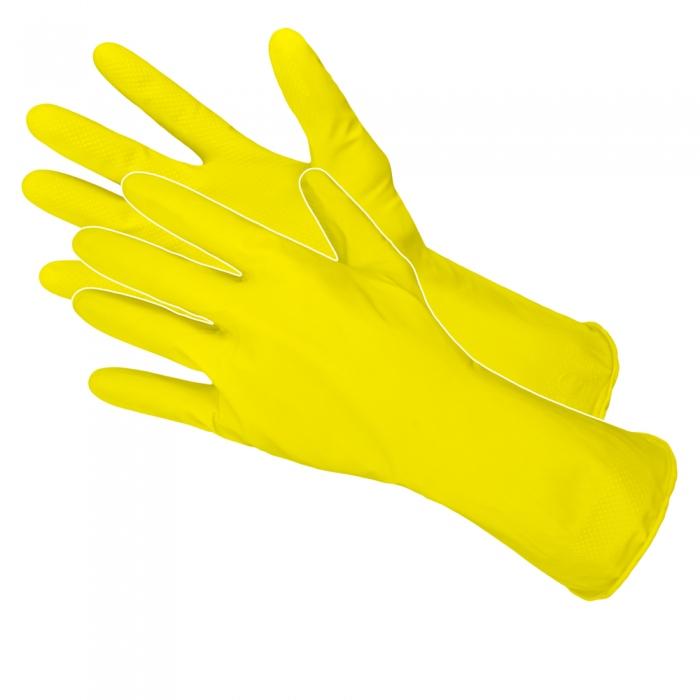 Rękawice gospodarcze lateksowe flokowane RFL rXL