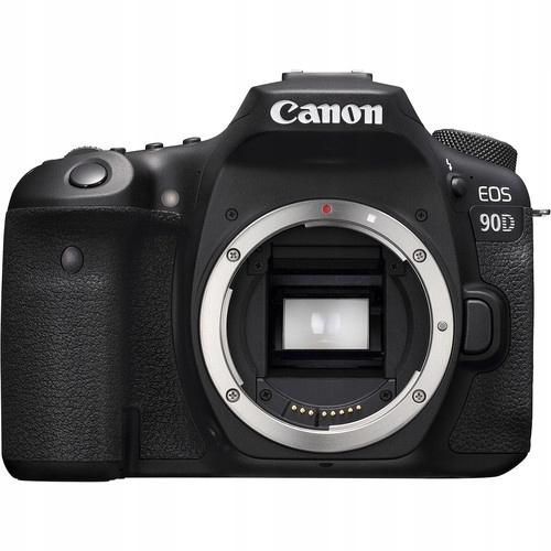 Lustrzanka Canon Eos 90D body 4K nowy gw