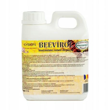 BeeVirol 1kg HIGIENA witalność czerwienie pszczół