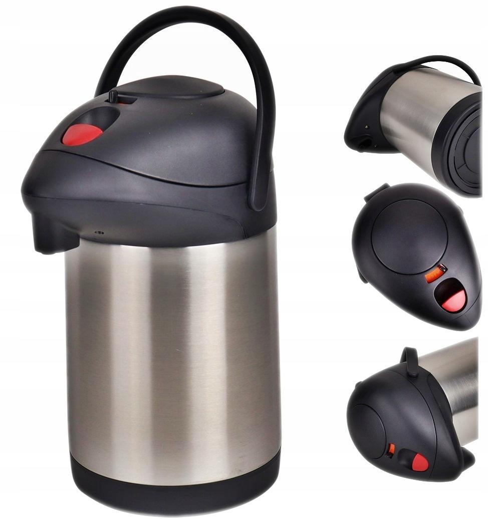 TERMOS KONFERENCYJNY kawa herbata z POMPKĄ 4 L