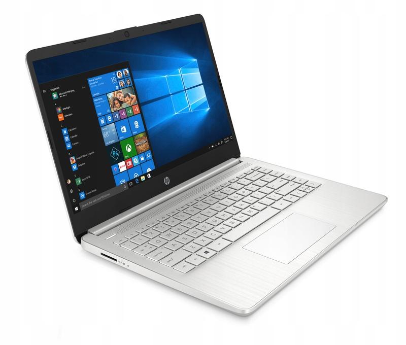 SREBRNY MOCNY HP 14-dq i3-10/ 8 GB/ 256 GB / Win10
