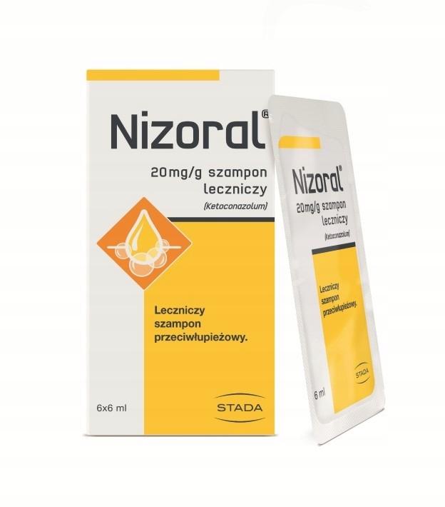 Купить Nizoral szampon przeciwłupieżowy 6x6ml ketokonazol на Otpravka - цены и фото - доставка из Польши и стран Европы в Украину.