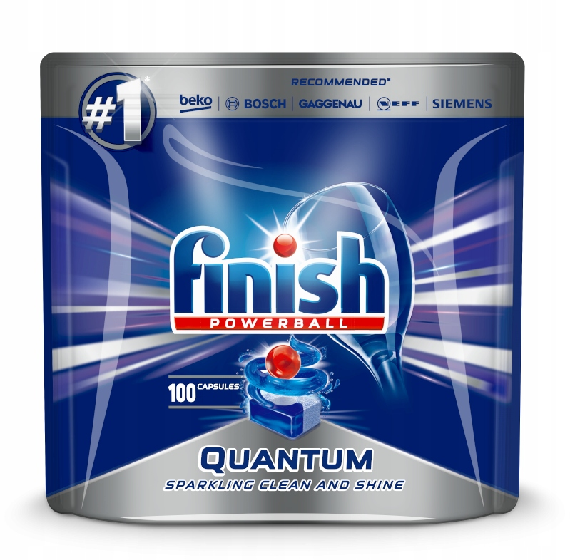 FINISH DISHWASHER TABLETS 100 шт Квантовая MAX