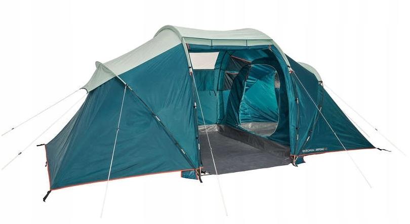 4-х местная палатка QUECHUA с 2 спальнями